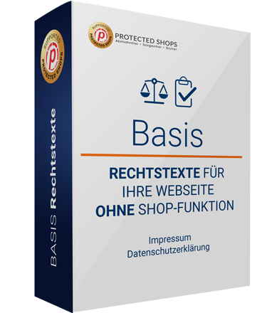 Webseite OHNE Shop-Funktion